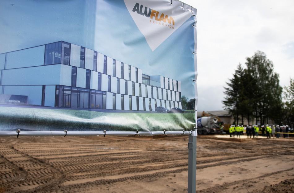 Jonavą pasiekė milijoninės investicijos – statoma nauja gamykla