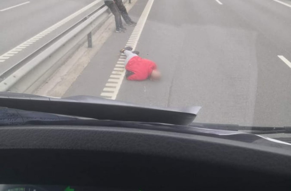 Pranešimai apie kelyje Jonava - Kaunas partrenktą vyrą nepasitvirtino