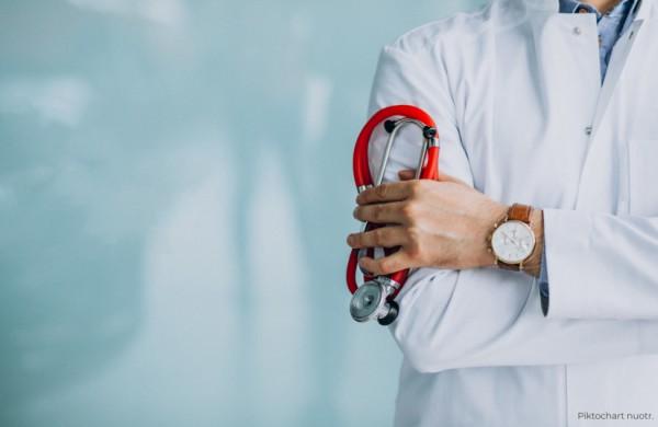 Vizitai pas gydytojus: auga kontaktinių sveikatos paslaugų skaičius