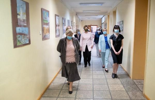 Jonavoje lankėsi Švietimo, mokslo ir sporto ministrė