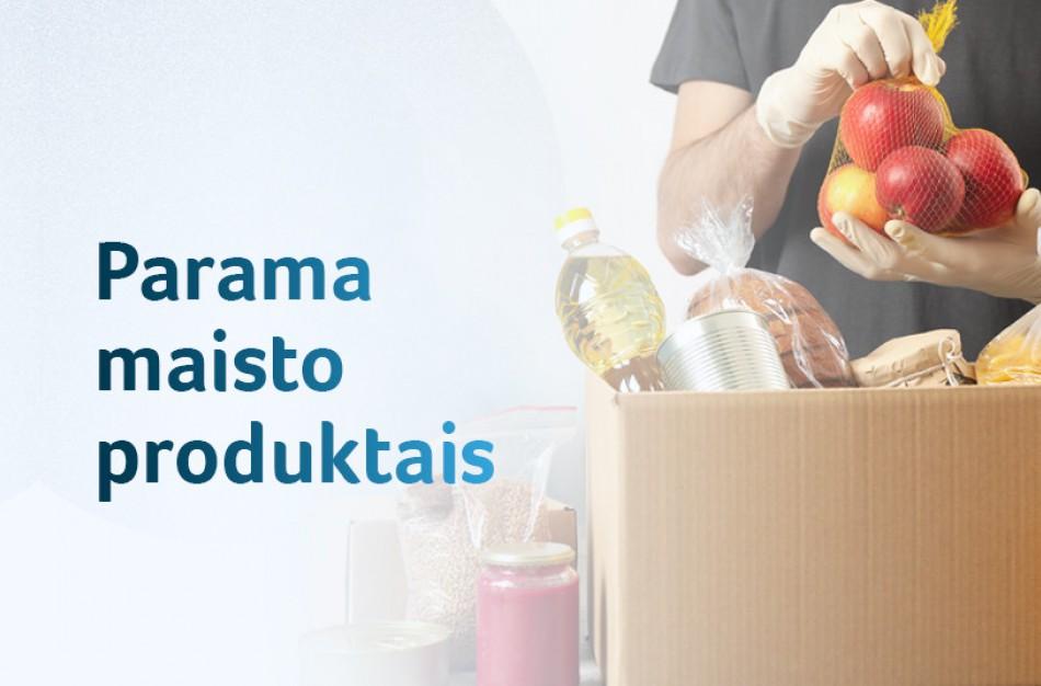 Apie 186 tūkstančiai nepasiturinčiųjų birželį gaus paramą maisto produktais ir higienos prekėmis
