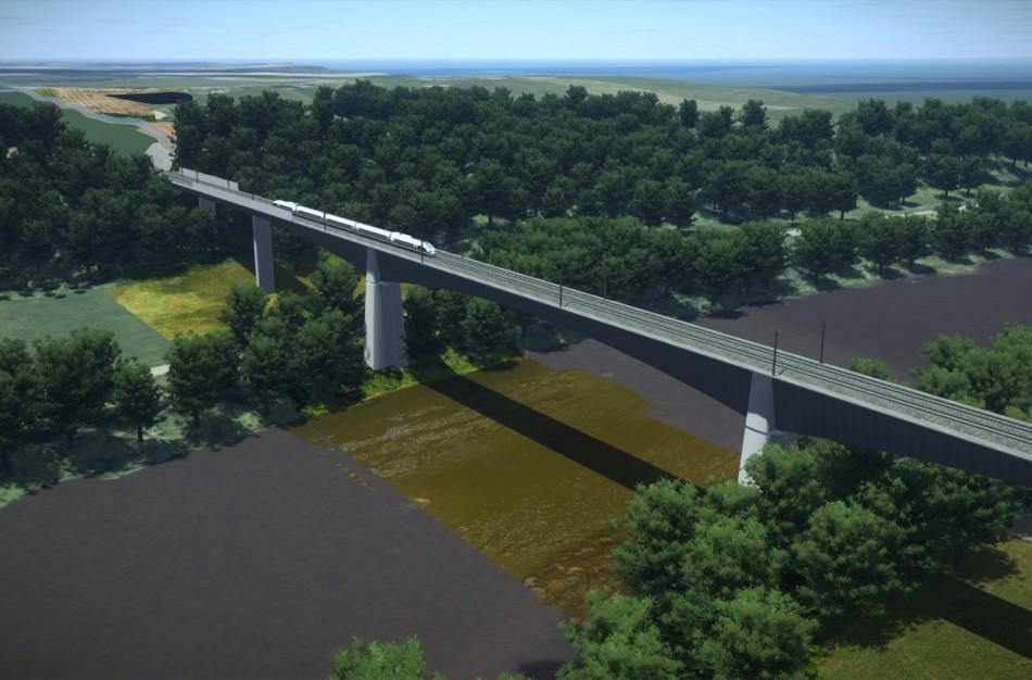 """Skelbiamas naujas konkursas dėl """"Rail Baltica"""" tilto per Nerį statybų"""
