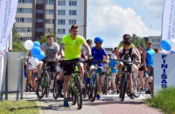 Jonavoje įvyko Olimpinės dienos bėgimas