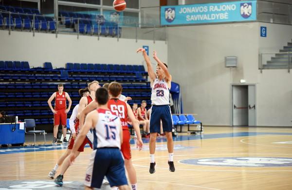 Jaunieji krepšininkai šiemet nukeliavo iki pat U15 finalinio ketverto