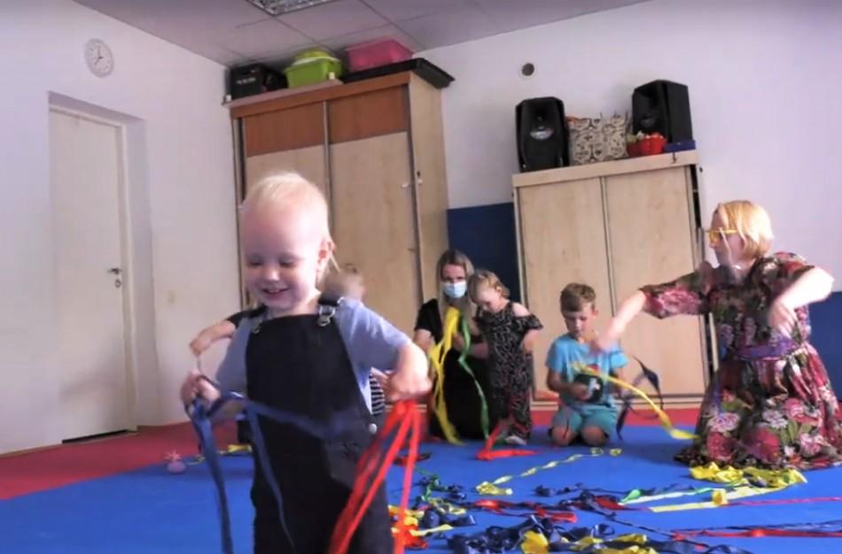 Vaikų ir jaunimo visapusiško lavinimo centre pats darbymetis