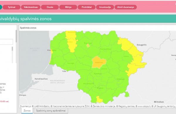 Koronavirusu rajone iš viso serga tik 7 asmenys