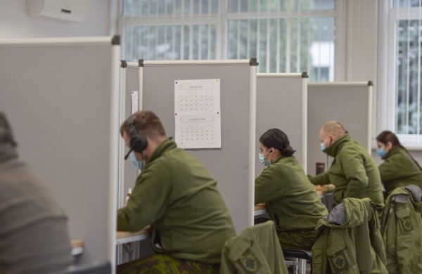KASP kariai įvykdė Taikos meto užduotį: pagalba NVSC baigta