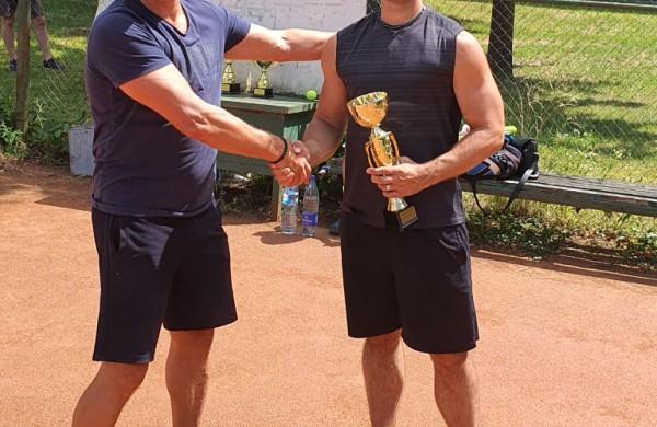 Šeštajame Jono Sirvydžio teniso turnyre - Arūno Narbuto triumfas