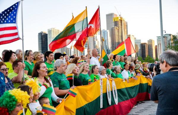 Tautiška giesmė kasmet skamba pasaulio sostinių širdyse