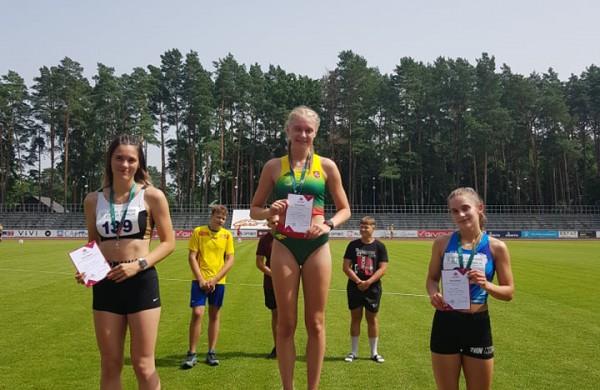 JKKSC lengvaatlečiai į  į Jonavą parvežė 6 Lietuvos čempionatų medalius