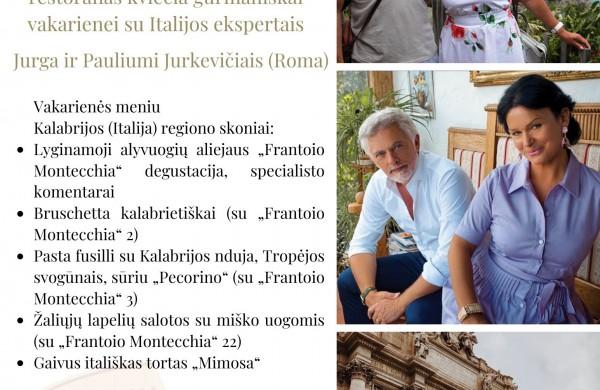 Nėra gražesnio pasaulio kampelio už Pietų Italijos regioną Kalabriją. Nėra sveikesnės virtuvės už kalabriečių