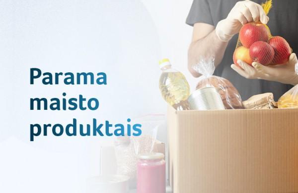 Apie 186 tūkstančių nepasiturinčiųjų rugpjūtį sulauks paramos maisto produktais