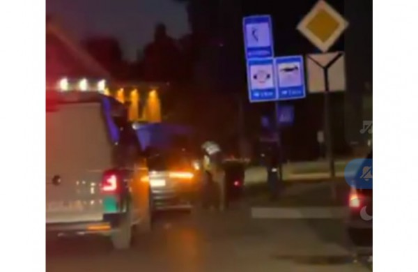 """Pareigūnų sustabdytas prabangios ,,Audi"""" vairuotojas atsisakė  tikrintis blaivumą"""