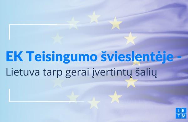 Teisingumo švieslentėje Lietuva – tarp gerai įvertintų ES šalių