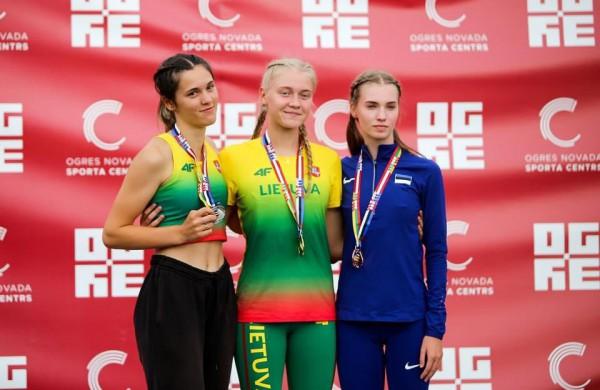 JKKSC džiaugiasi sėkmingais Emos Sarafinaitės startais Baltijos šalių jaunių čempionate