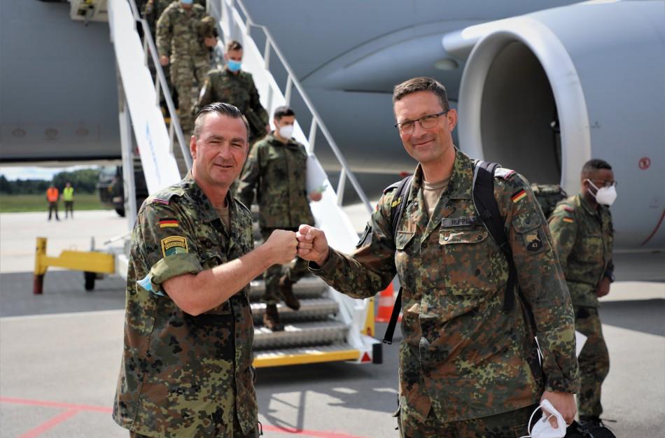 Rukloje vyks NATO priešakinių pajėgų bataliono kovinės grupės vado pasikeitimas