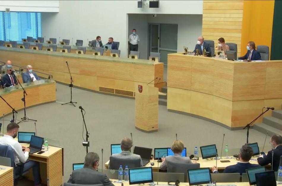 Į Seimą galės patekti tik turintys Galimybių pasą asmenys, parlamentarams – rekomendacija turėti Galimybių pasą