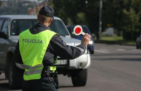 Savaitės greičio rekordininkas BMW užfiksuotas Jonavos rajone