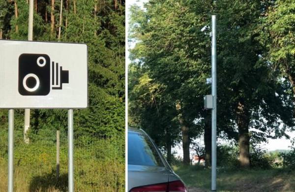 Vairuotojai informaciniuose ženkluose prieš vidutinius greičio matuoklius pastebi trūkumų