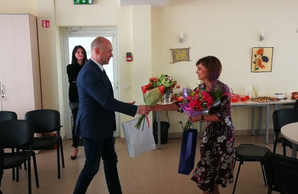 Jubiliejaus proga pasveikinta Valentina Demidenko