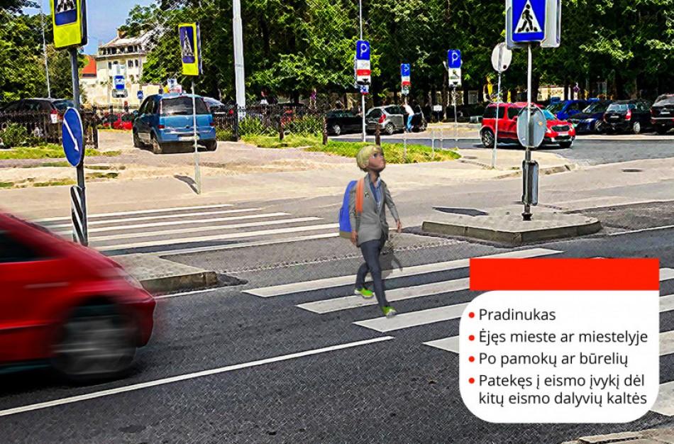 Artėjant mokslo metams: nepilnamečių, nukentėjusių keliuose, paveikslas ir patarimai eismo dalyviams
