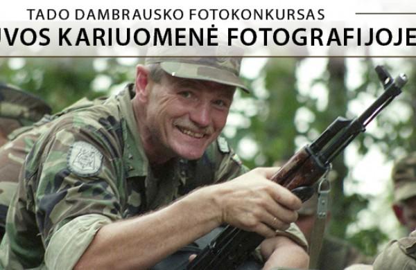 """Startuoja tradicinis fotokonkursas """"Lietuvos kariuomenė fotografijoje 2021"""""""