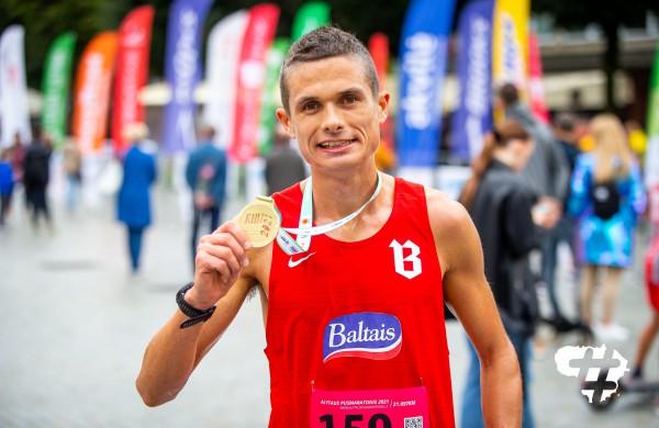 """Alytaus pusmaratonyje - Jonavos ,,Maratono"""" bėgikės sėkmė"""