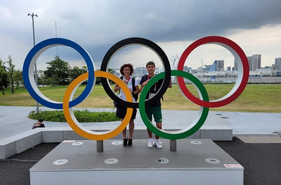 Lietuvos ėjiko M. Žiūko trenerė G. Goštautaitė – apie įspūdžius Tokijo olimpiadoje, meilę sportui ir darbą Jonavoje
