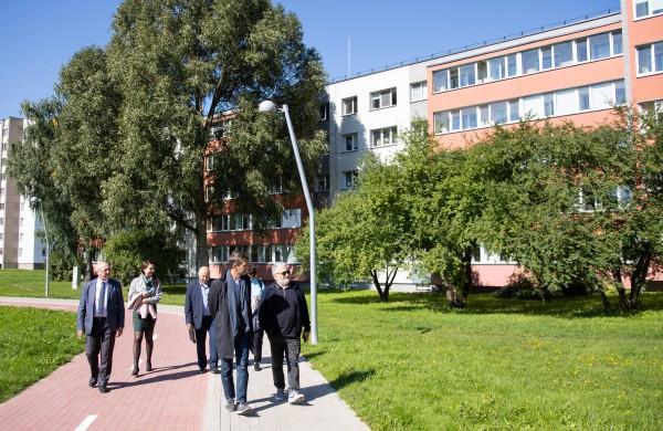 Europos tarybos vystymo banko atstovai įvertino sėkmingą renovacijos patirtį Jonavoje