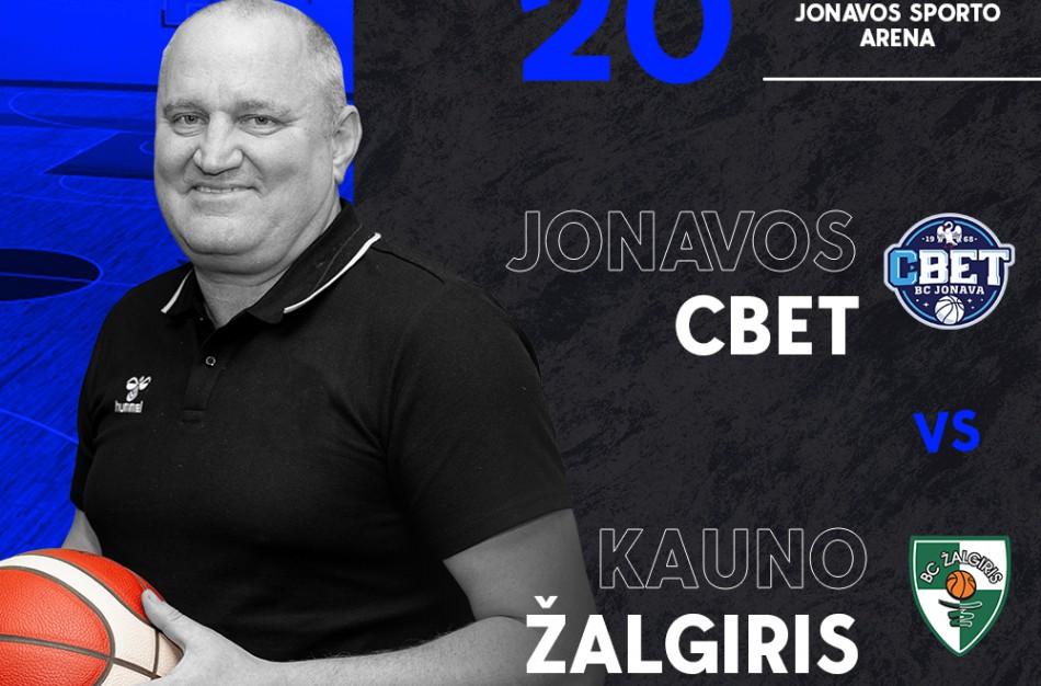 """Startuoja prekyba bilietais į Jonavos """"CBet"""" ir Kauno """"Žalgirio"""" rungtynes"""