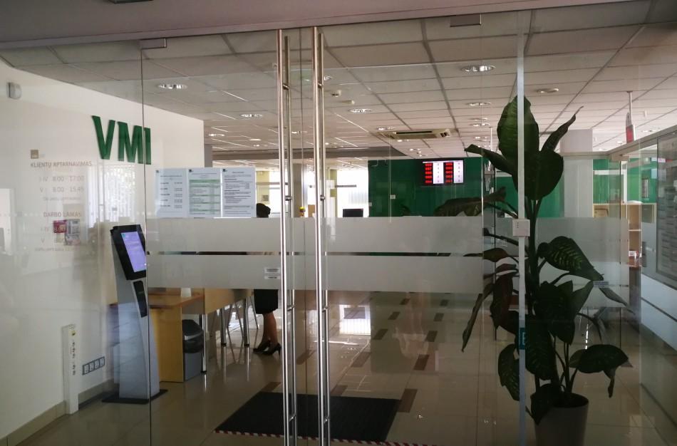 VMI klientus aptarnauja įprasta tvarka