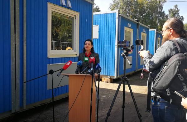 Ruklos pabėgėlių priėmimo centre bus apgyvendinta apie 400 socialiai pažeidžiamiausių migrantų