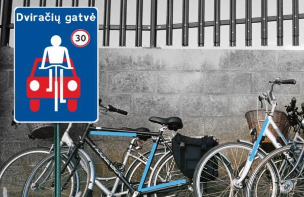Siūlo miestuose įrengti dviračių gatves, efektyviau organizuoti specialaus ir viešojo transporto eismą