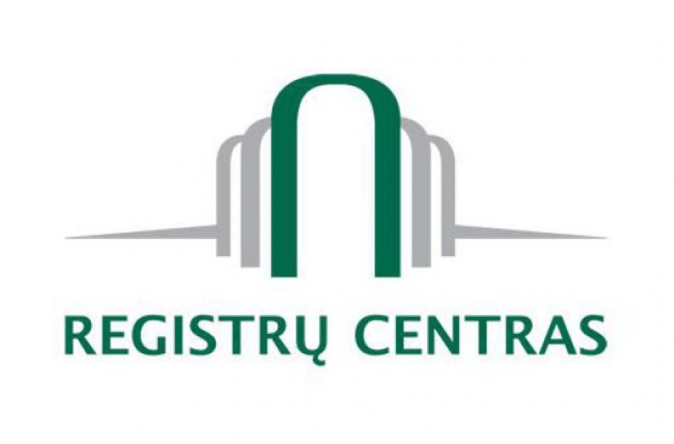 Registrų centras pereina prie naujo duomenų teikimo modelio