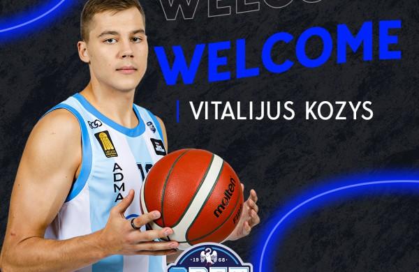 Buvęs Lietuvos jaunimo rinktinių narys Vitalijus Kozys iki sezono pabaigos atstovaus Jonavos komandai