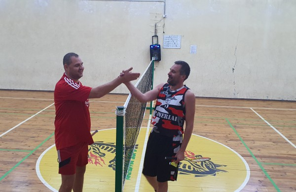 Istorinį badmintono turnyrą laimėjo Robertas Giedraitis
