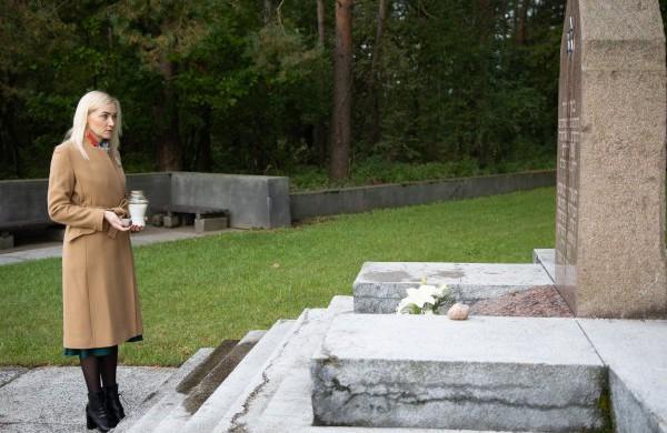 Jonavoje pagerbiamas žydų genocido aukų atminimas