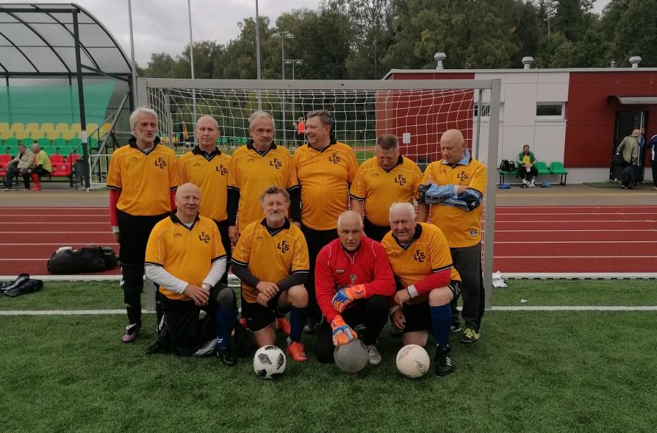 Futbolo senjorų 60+ turnyras Kaišiadoryse