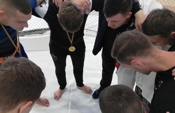 """MMA varžybose -  sporto klubo ,,Faiteris"""" sėkmė"""