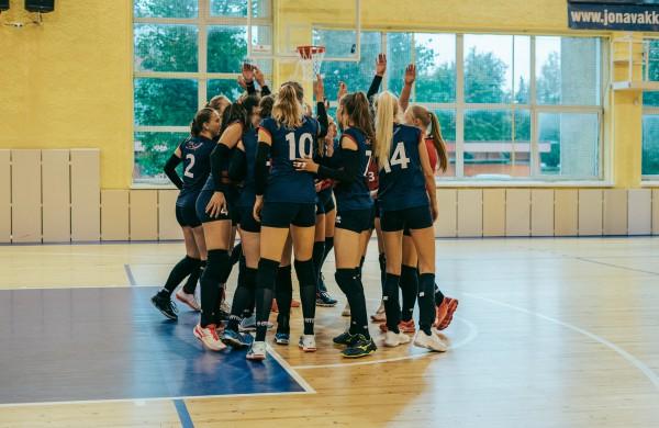 Jonavos klubas grįžta į Baltijos moterų tinklinio lygą