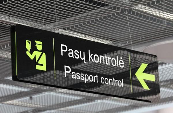 Kauno oro uoste įkliuvo už nusikaltimą nuteistas Jonavos miesto gyventojas