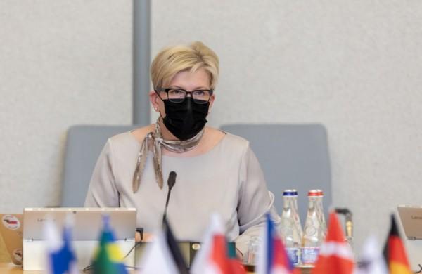 Premjerė ir Verslo tarybos atstovai aptarė padėtį darbo rinkoje