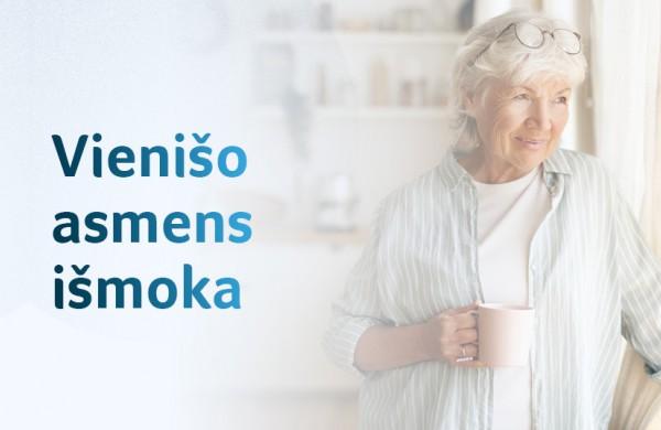 Gera žinia senjorams: kitąmet priklausančią vienišo asmens išmoką gaus be prašymo