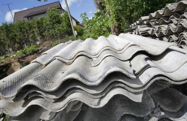 Nemokamai bus surenkamos asbesto atliekos