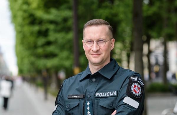 """Metus Kauno apskrities policijai vadovaujantis M. Baršys: """"Ir toliau tobulinsiu veiklą, kelsiu ambicingus tikslus"""""""