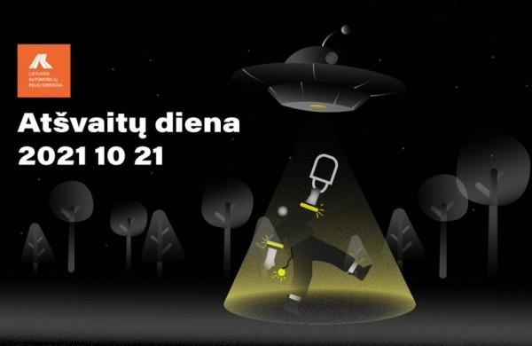 Atšvaitų diena Lietuvoje: priminimas taisyklingai naudoti atšvaitus ir nepalikti jų stalčiuose