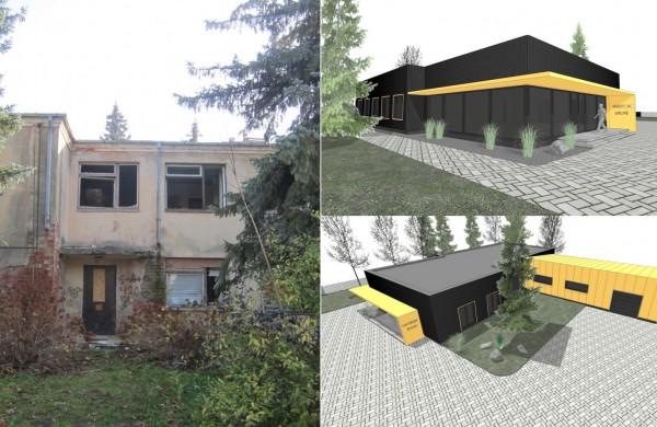 Vietoj seno pastato Kauno gatvėje - planuojamas atnaujintas statinys