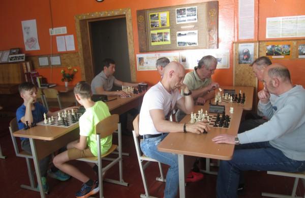 Žaidžia šachmatininkai