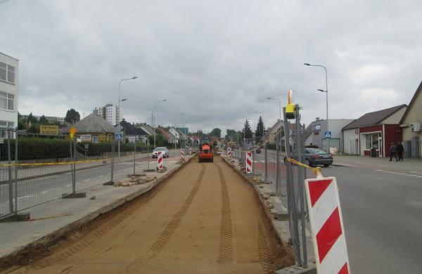 Atnaujinama J.Basanavičiaus gatvė