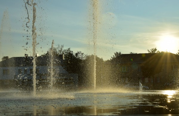 Miesto fontanas